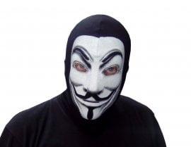 Maska Anonimusi - Fantomka Anonymous