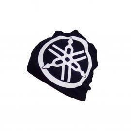 Yamaha crna štrikana kapa za zimu