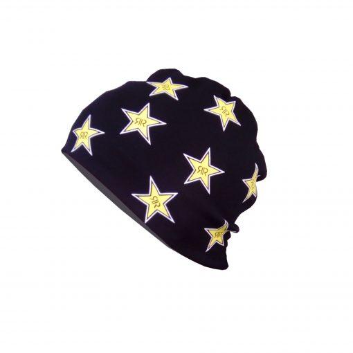 Zimska kapa crne boje STAR logo