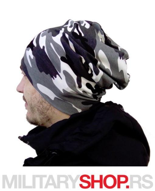 Urban maskirna kapa za zimu