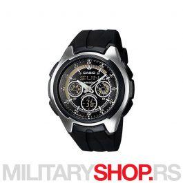 Casio crni muški sat standard AQ 163W 1B1VDF