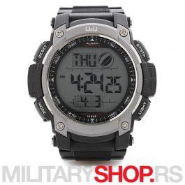 Digitalni Q&Q muški ručni sportski sat M119J002Y