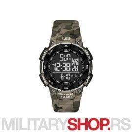Q&Q Military muški ručni sportski digitalni sat M124J807Y
