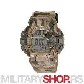 Q&Q Muški ručni military digitalni sat M144J005Y