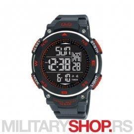 Q&Q ručni muški sportski digitalni sat M124J805Y