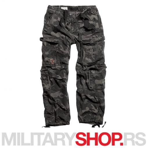 Surplus darkcamo pantalone Airborne Vintage 100% pamuk