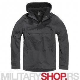 Brandit windstoper windbreaker jakna crne boje