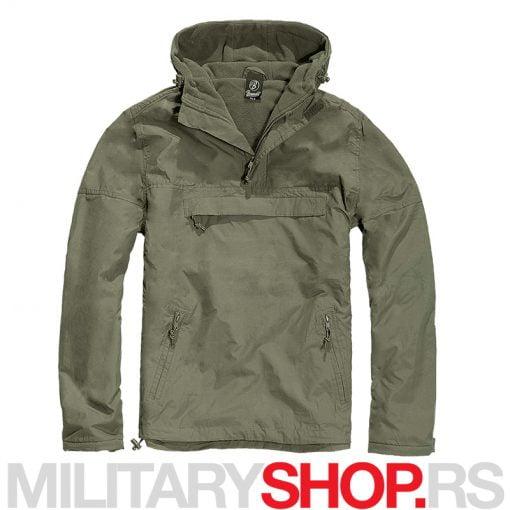 Brandit windstoper-windbreaker jakna zelene boje