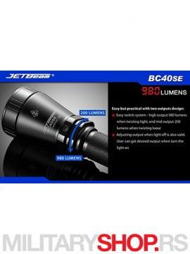 Lampa JetBeam BC40 SE 3
