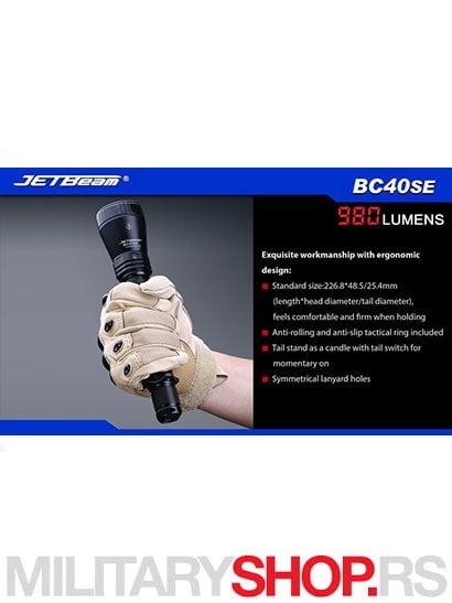 Lampa JetBeam BC40 SE 5