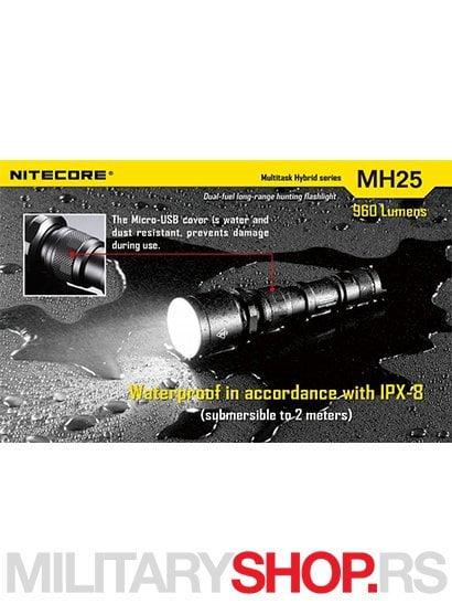 Nitecore lampa MH25