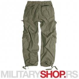 Surplus maslinasto zelene pantalone Airborne Vintage 100% pamuk