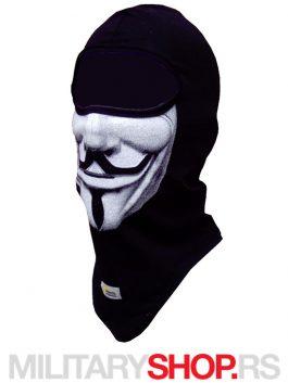 Anonimusi crna pamučna potkapa