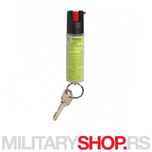 Sabre Red sprej protiv pasa privezak za ključeve 1