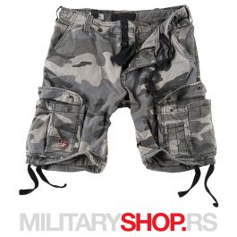Surplus bermude nightcamo Raw Vintage 100% pamuk