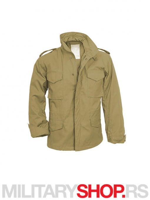 Surplus vojna jakna M65 vijetnamka sa uloskom bez boje