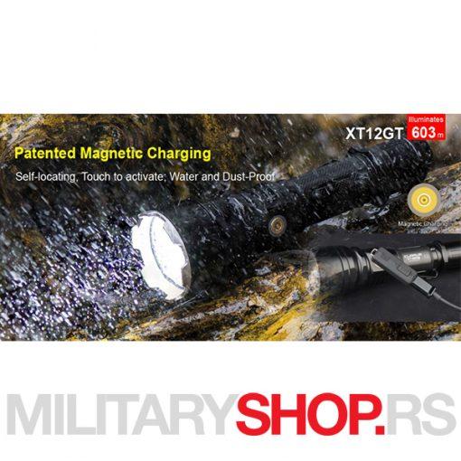 Taktička lampa Klarus XT12GT