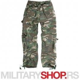 Surplus woodland pantalone Airborne Vintage 100% pamuk