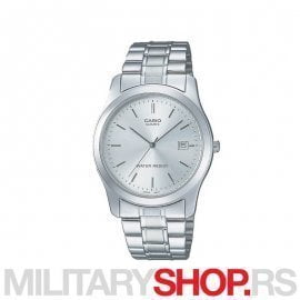 Casio analogni silver metal muški ručni sat MTP 1141A 7ARDF
