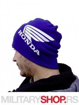 Pamucna kapa sa logom Honde u plavoj boji
