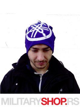 Yamaha plava kapa od pamuka