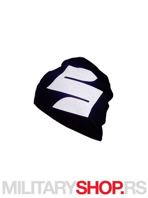 Crna kapa od pamuka Suzuki