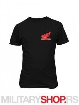 Crna pamucna majica HONDA