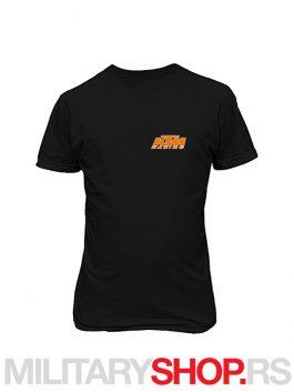 Crna majica od pamuka KTM logo