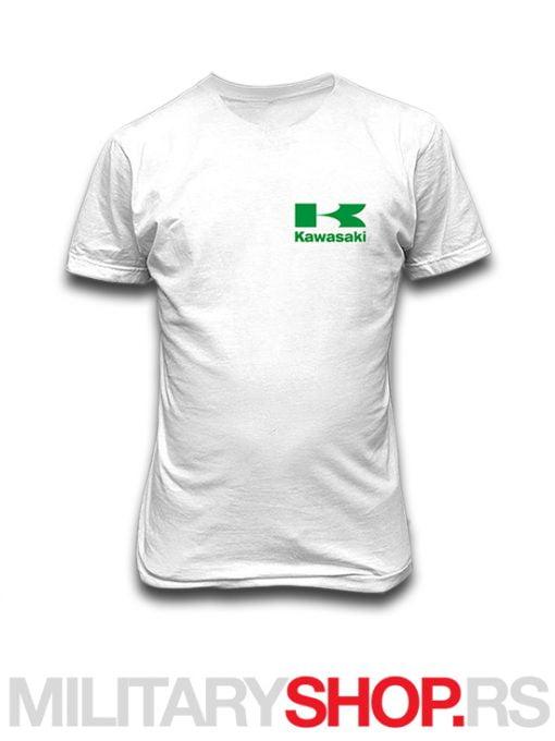 Majica Kawasaki od pamuka bele boje