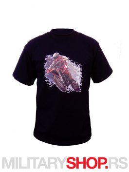 Moto majica crna MOTOCROSS