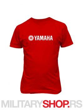 Majica Yamaha u crvenoj boji
