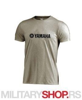 Siva majica od pamuka sa logom YAMAHA
