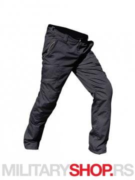 Rip Stop crne moto pantalone
