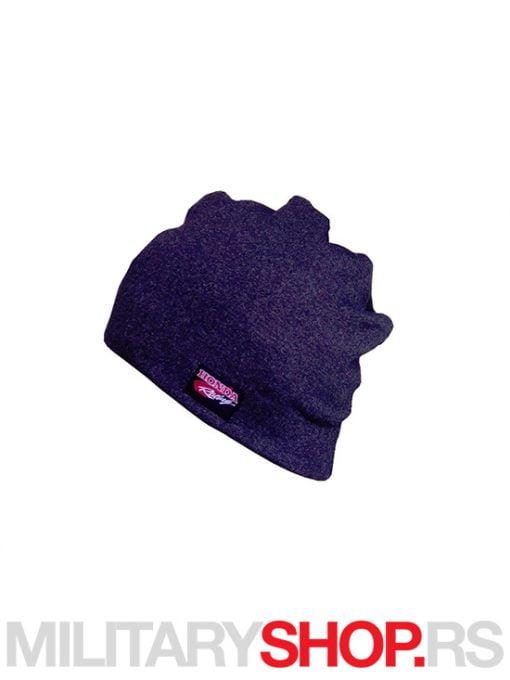 Tamno siva zimska kapa logo Honda