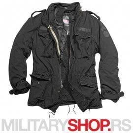 Surplus M65 Regiment crna jakna sa uloskom