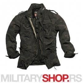 M65 Surplus Regiment Blackcamo maskirna jakna