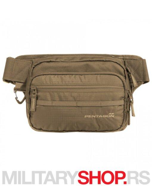 Pojasna torbica za skriveno nošenje Runner Kojot