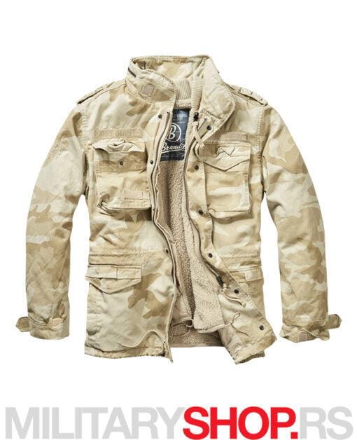 Brandit M65 Giant Desertstorm maskirna jakna sa uloškom