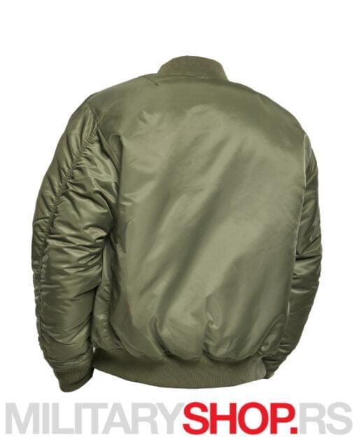 Zelena fajerka MA1 Brandit pilot jakna
