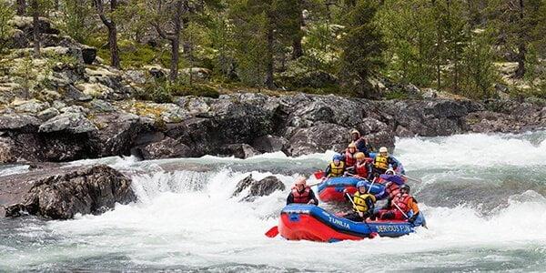 Rafting - rekreacija za hrabre