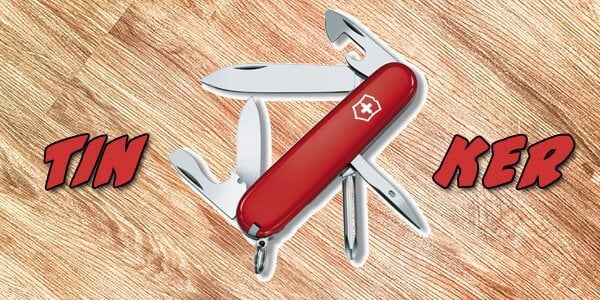 Victorinox Tinker crveni nož - MILITARY SHOP RS