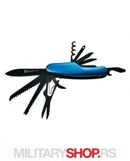 Cavali Nož Schwarzwolf Outdoor Plavi