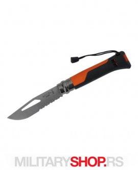 Inox 8 Opinel Nož Survival Orange Sa Pištaljkom