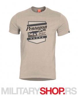 Pentagon ACR bež majica