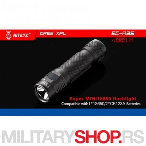 Super mini LED lampa Jetbeam Niteye