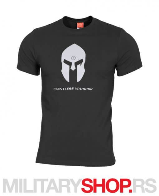 Spartan Helmet Pentagon crna majica