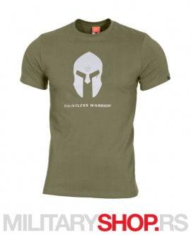 Zelena Pentagon majica Spartan Helmet