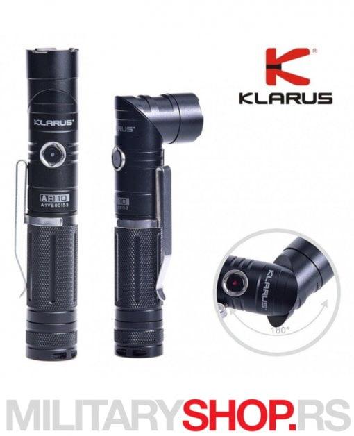 Lampa sa punjivom baterijom Klarus AR 10