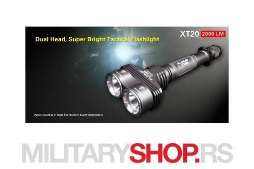 Klarus XT20 Takticka lampa
