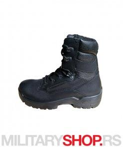 YDS crne kožne čizme PATROL Boots